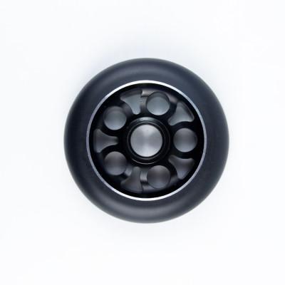 Les roues de scooter de cascade de série d'alliage de haute précision de 100 mm pro avec le paquet individuel de carte