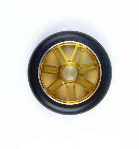 Custom Color Alloy Core 110mm Replacement Stunt Scooter Wheels For 2 Wheel Scooters