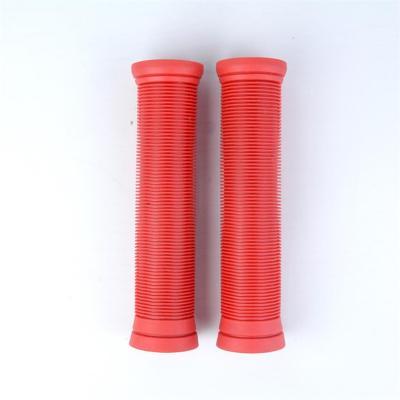 고품질 단색 빨간색 TPR 프로 스턴트 스쿠터 핸들 그립