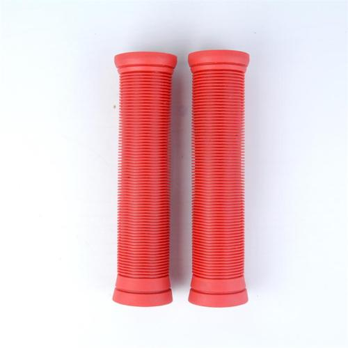 Poignées de guidon de scooter Stunt TPR Pro de couleur rouge solide de haute qualité