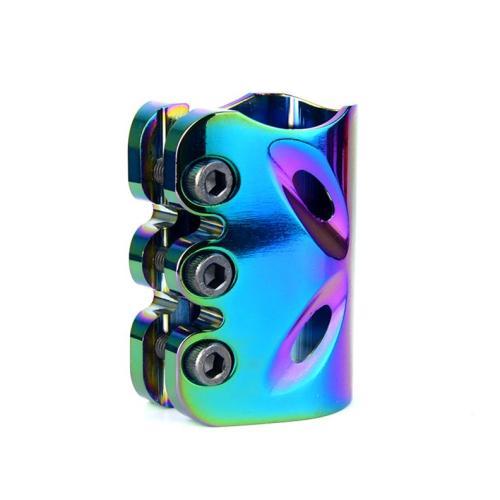3 개의 놀이쇠를 가진 공장 가격 CNC 신 크롬 직업적인 스턴트 스쿠터 죔쇠