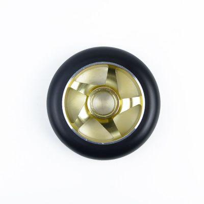최고 반동 고품질 CNC는 알루미늄 중핵 직업적인 스쿠터 바퀴 100mm를 삭감했습니다