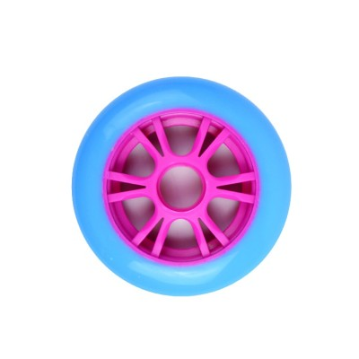 buen precio ruedas de núcleo de plástico de 100 mm para scooter para niños o scooter de nivel básico