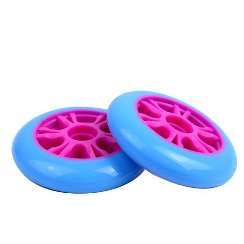 roues de noyau en plastique du bon prix 100mm pour le scooter d'enfants ou le scooter de cascade d'entrée de gamme