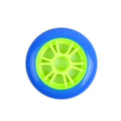2 개의 바퀴 자유형 스쿠터를위한 플라스틱 중핵을 가진 높은 반동 100mm * 24mm 스턴트 스쿠터 바퀴