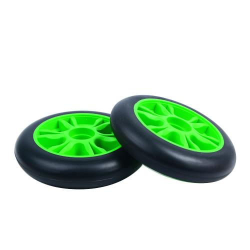 roues de scooter de cascade de rebond élevé de 100 mm * 24 mm avec noyau en plastique pour scooters freestyle à deux roues