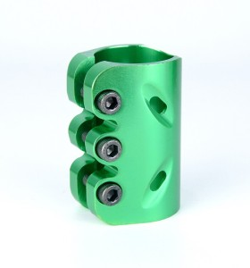 Anodizing surface CNC 6061 aluminum 3 holes clamp for pro stunt scooters