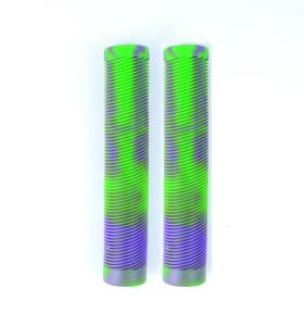 Puños de scooter TPR de 160 mm de color mixto de alta calidad personalizados para scooter profesional