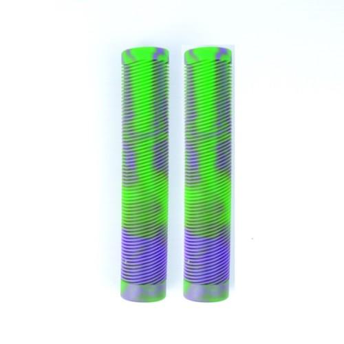직업적인 곡예 스쿠터를위한 주문 고품질 혼합 색깔 160mm TPR 스쿠터 그립