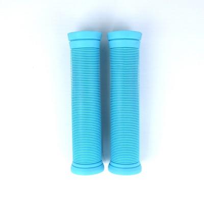 2019 공장 공급 사용자 정의 색상 및 로고 TPR 140mm 스턴트 스쿠터 핸들 그립