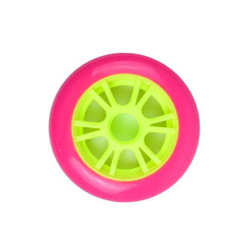 Roues de scooter bon marché de 100 mm dans un noyau en plastique pour les scooters de cascadeurs pour enfants et adultes