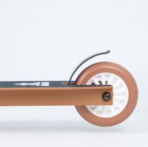 Scooter acrobatique en aluminium d'entrée de gamme avec roues de 100 mm pour adolescents et adultes