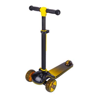 Scooter de altura ajustable para niños con tres ruedas para niños