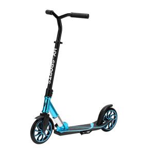 Scooter plegable de aluminio de dos ruedas con altura ajustable para adultos