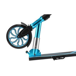 Scooter en aluminium de ville de coup-de-pied pliant de deux roues avec la taille réglable pour des adultes