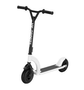 Two Big Tire Wheels Adult Fitness Kick Dirt Scooter For Fielding Riding