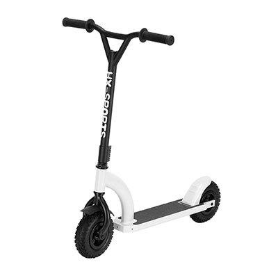 2 명의 큰 타이어는 타기를위한 성인 적당 걷어차 기 먼지 스쿠터를 선회합니다