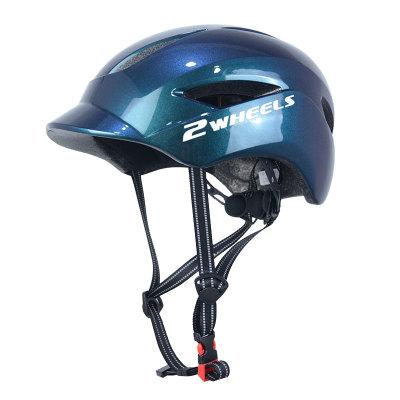 틴에이저와 성인을위한 세륨 CPSC 증명서를 가진 붙박이 형 LED 빛 PC 스쿠터 헬멧