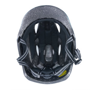 Built-in Mold LED light PC Scooter Helmet With CE CPSC certificate For Teens And Adults