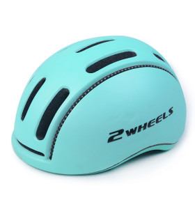 CE EN1078 casco importado de alta calidad para scooter EPS con banda de luz reflectante