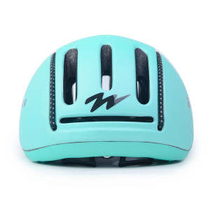 CE EN1078 high quality imported EPS scooter riding helmet with reflect light band