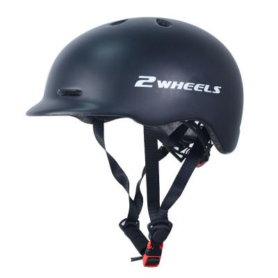 Casques de scooter de casques de sports de plein air de Shell de PC de langue de chapeau avec le certificat de la CE EN1078 CPSC