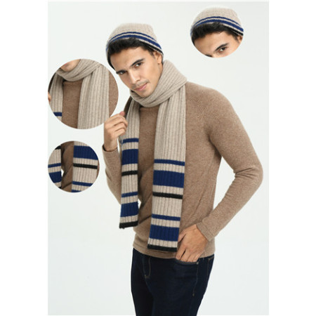 neuer Modedesign Luxus 100% reiner Kaschmirschal für Herren