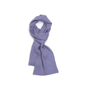 ODM China factory gril's solid colour pure cashmere scarf for fall winter in high quality