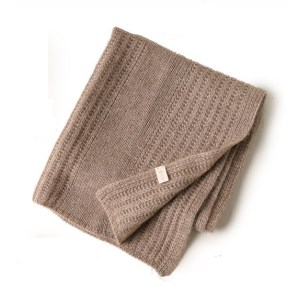 Wholesale high end custom new design 100% pure cashmere blankets for babies China manufacturer