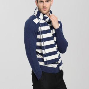 écharpe 100% cachemire pur style long pour hommes