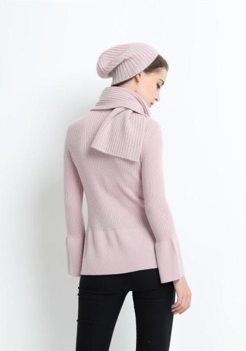 bufanda de moda de cachemira pura para mujer con color liso
