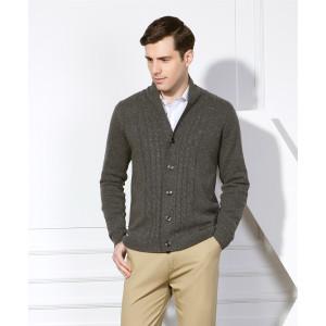 neues Design 100% reine Kaschmir-Strickjacke für Männer