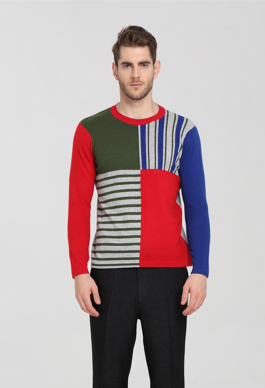 suéter de cachemir para hombre