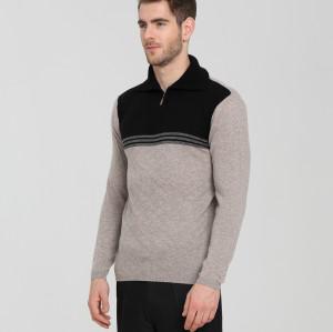 moda suéter de cachemir puro para hombres con múltiples colores