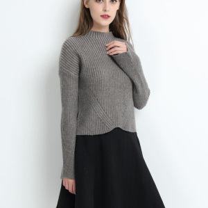 Suéter de cachemir 100% puro de alta calidad para mujer.
