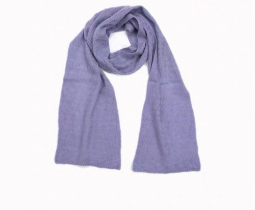 écharpe en cachemire de couleur unie de Gril pour l'automne hiver