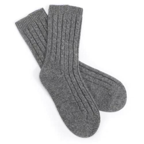 chaussettes 100% cachemire 100% pur et doux pour l'automne et l'hiver avec des articles en stock