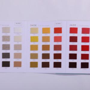 Cartes de couleur 100% cachemire pur pour l'automne et l'hiver avec des cartes de couleur