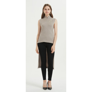 wholesale fashion design women pullover cashmere sweater with high quality yarns in cheap price