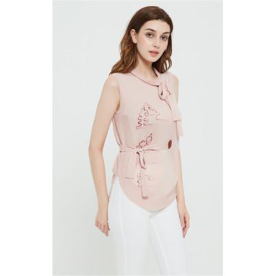 chandail de femmes de cachemire de conception de mode pure avec dessiné à la main