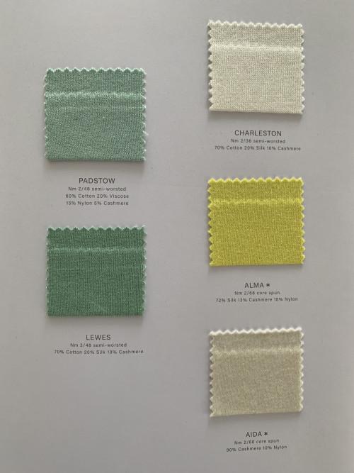 Cartes couleurs mélange cachemire Ewsca avec tous les matériaux pour le printemps