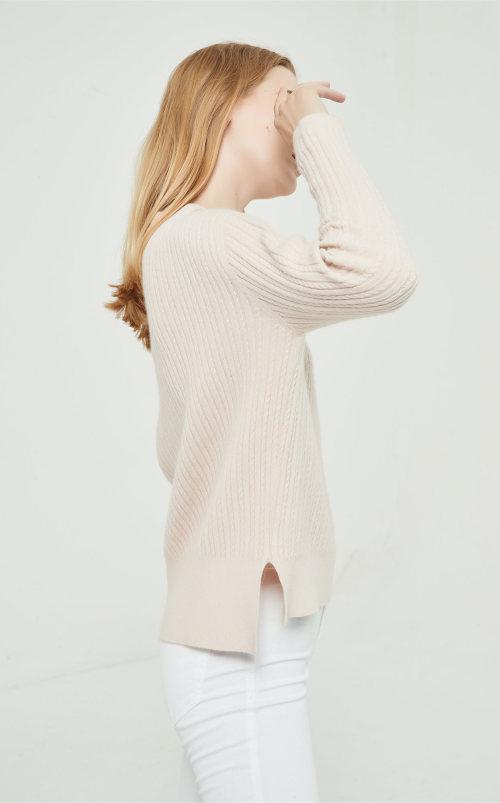 pull en cachemire pur de haute qualité avec technologie sans couture