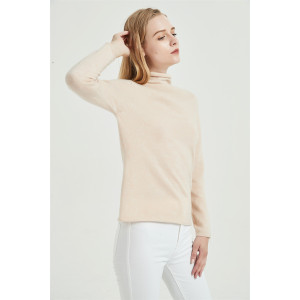 wholesale high quality cashmere seamless sweater with OEM service and cheap price