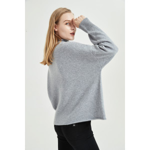 wholesale high quality pure cashmere women sweater with seamless technology with odm design