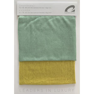 Ewsca spring new fancy color cards with silk cashmere mix