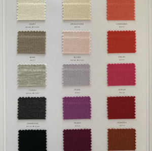 Ewsca spring nuevas tarjetas de colores elegantes con mezcla de seda y cachemir