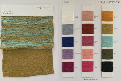 Ewsca spring hilo de lino 100% sostenible con colores comunes