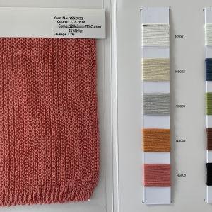 1 / 7.2nm 12% lin 67% coton 21% nylon fil fantaisie