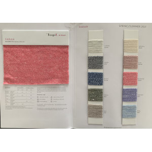 Sustainable Luxury 50%Cashmere 50%Linen Fancy Yarn