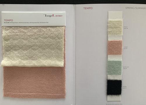 Ewsca automne luxe nouveau fil fantaisie avec mélange d'alpaga et couleurs de stock